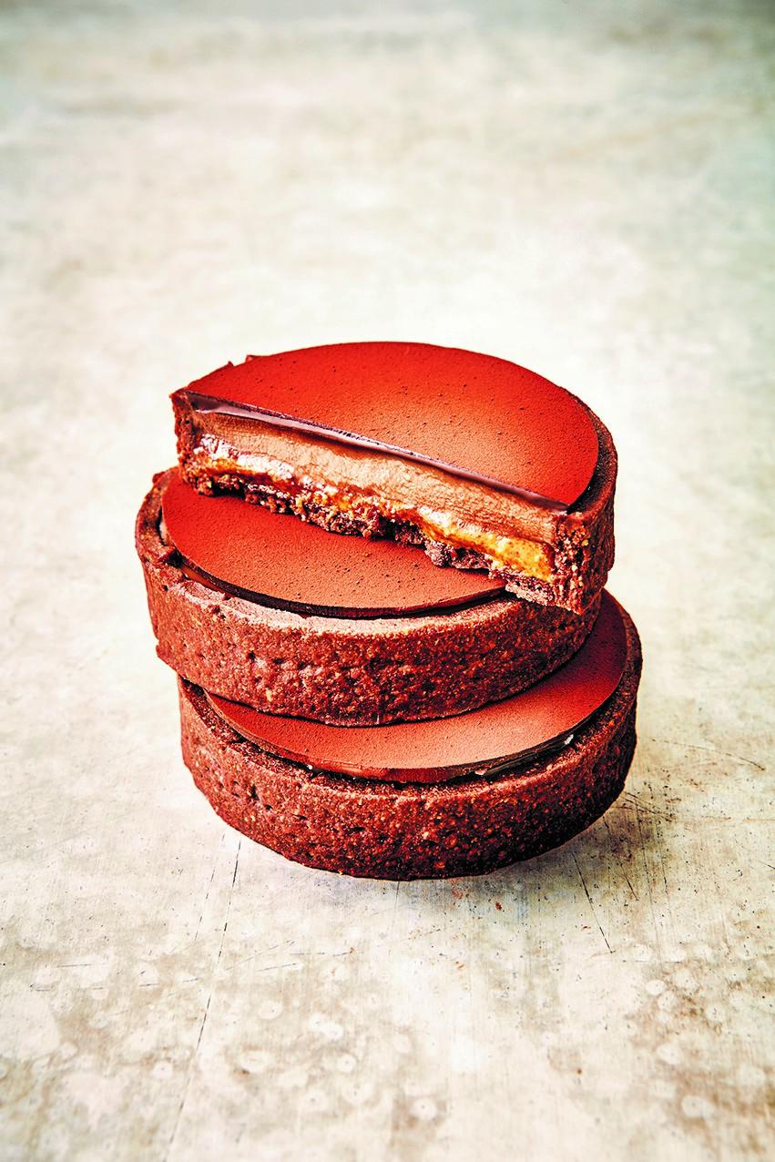 La Tarte Chocolat Praliné
